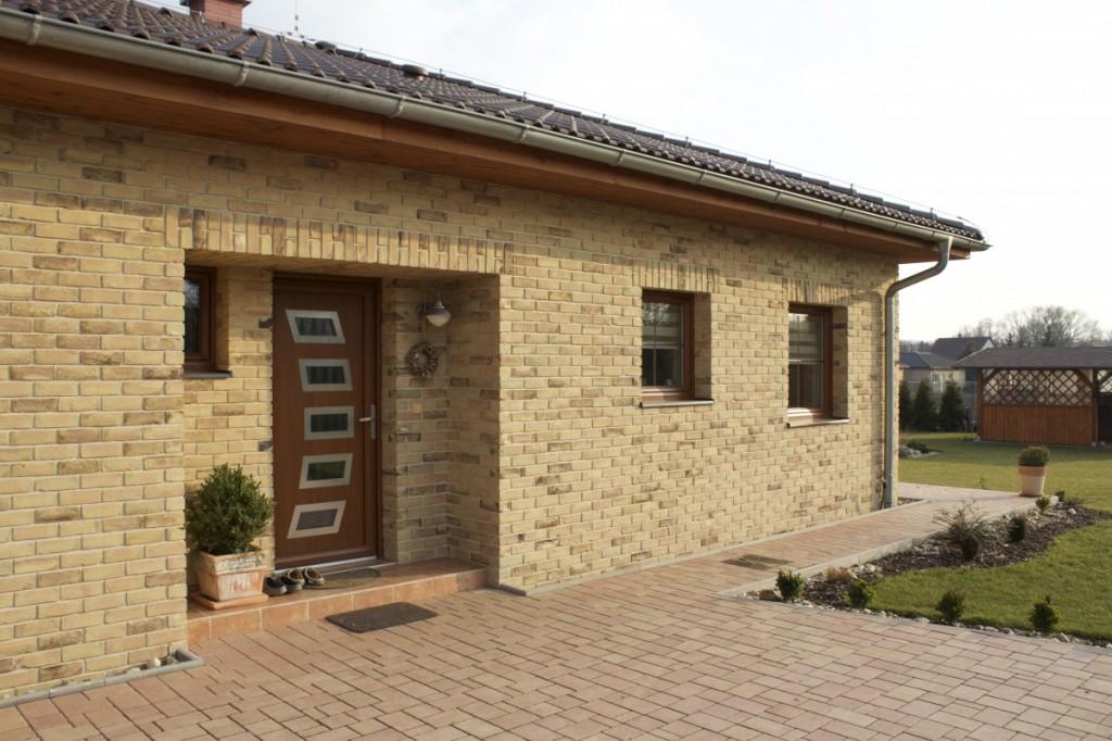 bungalov Lícové cihly Valeriaan