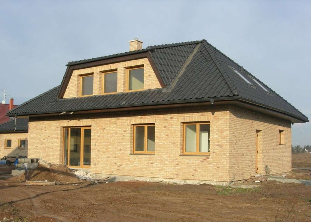 Fasáda z lícových cihel Oud Kuststeen