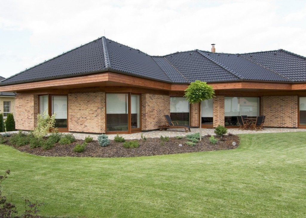 Rodinný dům z lícových cihel Primula