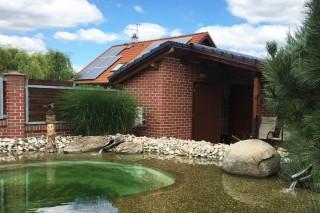 zahradní domek z klinkerů