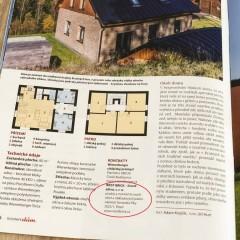 Westbrick a časopis Rodinný dům